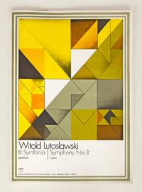 Symphony No. 3 [Full score] III Symfonia. Partytura