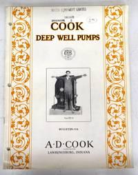 Cook Deep Well Pumps catalogue