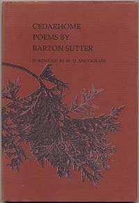 Cedarhome: Poems