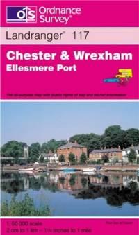 image of Chester and Wrexham, Ellesmere Port (Landranger Maps)