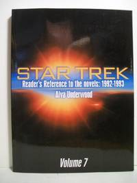 Star Trek Reader's Reference To The Novels: 1992-1993