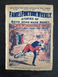 image of FAME AND FORTUNE WEEKLY DIME NOVEL