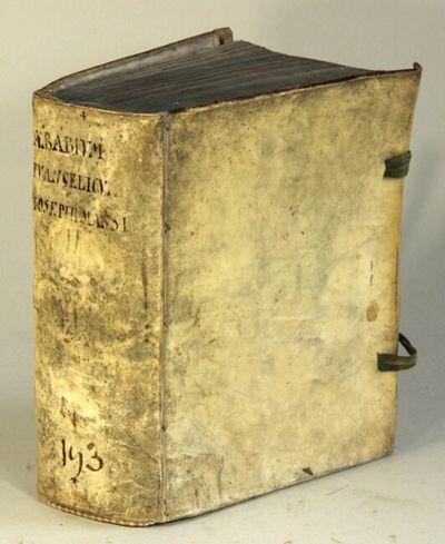 Coloniae Agrippinae: Apud Joannem Busaeum, bibliopolam sub Monocerote, 1668. First edition in Latin,...