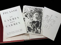 Le Carmen des Carmen With three aquatints, one drypoint and one lithograph in color by Picasso.