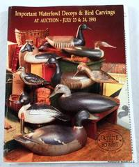 Important Waterfowl Decoys & Bird Carvings at Auction. Ogonquit, Maine, July 23 & 24, 1993 - Gary Guyette & Frank Schmidt Auction