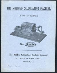 The Muldivo calculating machine. Made in France