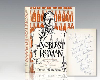 Boston: Houghton Mifflin Company, 1961. First edition of Halberstam's first book. Octavo, original c...