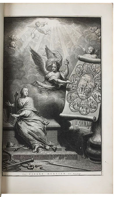 Large folio , 2 volumes, (8) ff., including half-title, engraved frontispiece signed Gouwen Schulp a...