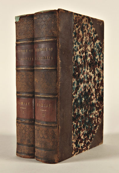 Charleston: Published by David Longworth, for the author, 1809. Two volumes. xii,478; iv,602pp. plus...
