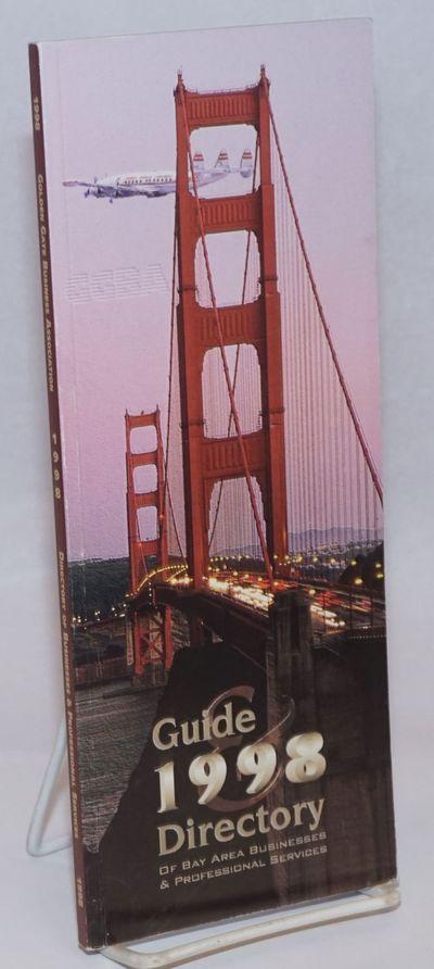 San Francisco: GGBA, 1998. Paperback. 87p., 3.5x8.5 inches, tall, narrow directory to LGBT member bu...