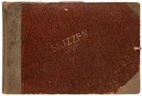 1920s Weimar Republic-era Sketchbook with Proto-Nazi Art and anti-Semitism