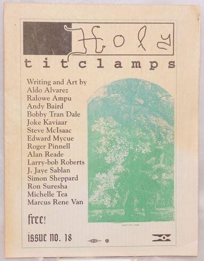San Francisco: Larry-Bob , 2002. Newspaper. folded tabloid newspaper, poetry, art, comix, reviews, a...
