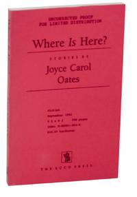 Where is Here? (Uncorrected Proof)