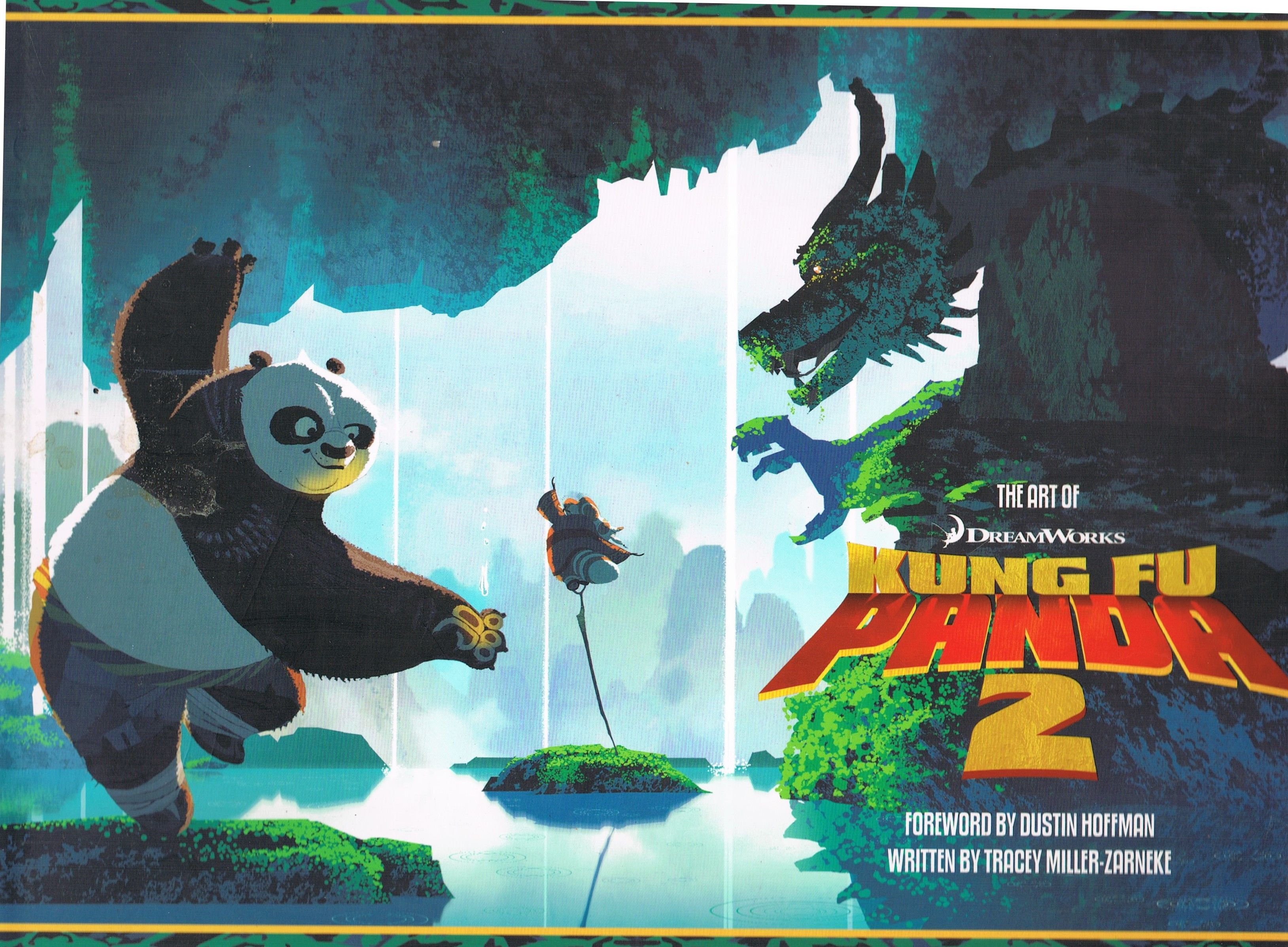 The Art Of Kung Fu Panda 2 By Tracey Miller Zarneke Hardcover 2011 From Daisyroots Books Ltd Sku 42939