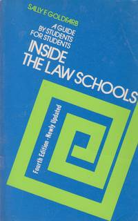 image of Inside the Law Schools A Guide for Students for Students