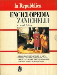 Enciclopedia Zanichelli 1995. Dizionario enciclopedico di arti, scienze, tecniche, lettere, filosofia, storia, geografia, diritto, economia.