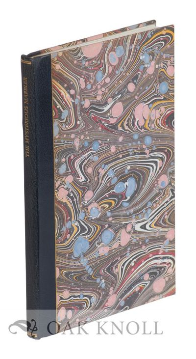 North Hills, PA: Bird & Bull Press, 1976. quarter blue leather over marbled paper-covered boards. Bi...