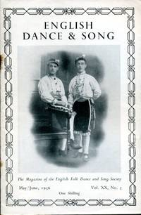 image of English Dance & Song  :The Magazine of the English Folk Dance and Song Society : Vol XX No 5  May/June 1956