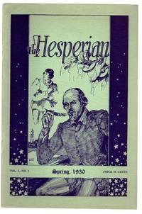 The Hesperian, Spring, 1930