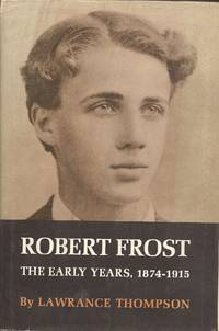 image of Robert Frost, The Early Years 1874-1915