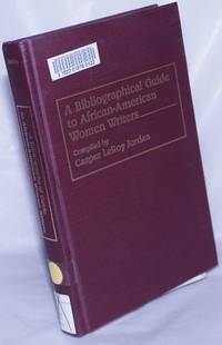 image of A bibliographical guide to African-American women writers