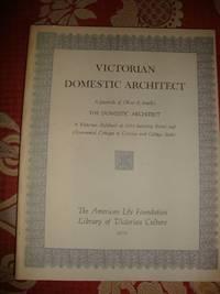 image of Victorian Domestic Architect