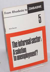 image of The informal sector: a solution to unemployment