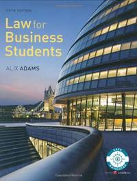 Law for Business Students fifth edition