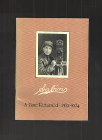 image of Sabin A Time Remembered: 1919 - 1924