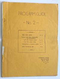 image of Program Guide no. 2