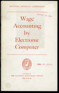 Wage accounting by electronic computer