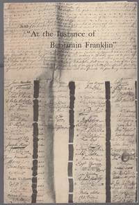 At the Insistence of Ben Franklin