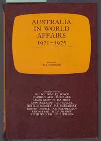 image of Australia in World Affairs 1971-1975