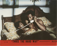 image of Three the Hard Way (Collection of seven lobby cards from the 1974 film)