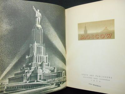 Moscow and Leningrad: State Art Publishers , 1939. Hardcover. Very good +. Quarto size, approx. 125 ...