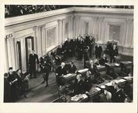 MR. SMITH GOES TO WASHINGTON (1939) Photo of James Stewart at US Senate building