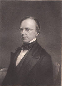 image of Original 1849 Steel Engraving of Roger S. Baldwin