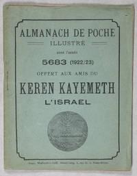 Almanach de Poche Illustré pour l'année 5683 offert aux amis du Keren Kayemeth L'Israel