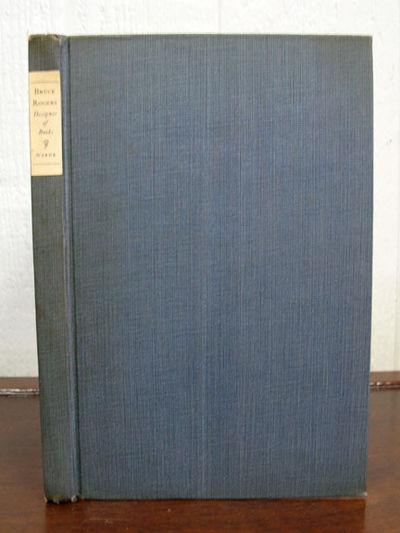 Cambridge: Harvard University Press, 1926. 2nd prtg. Blue-grey cloth. Paper spine label. VG.. 74 pp ...
