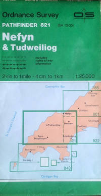 Pathfinder sheet 821 (Nefyn & Tudweiliog) by Ordnance Survey - Paperback - Scale 1:25,000 - 1986 - from Acanthophyllum Books and Biblio.com