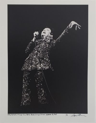 Chicago, 1967. Limited Edition (1 of 6). Judy Garland at the Chicago Civic Opera House in Chicago, I...
