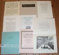 N.P.: Wynkyn de Worde Society, 1966. stiff paper portfolio holding seven Caslon-related items. Caslo...