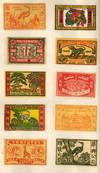 View Image 1 of 7 for Early Trade Catalog of Japanese Matchbox Labels by the Manfat Company. Including 500 different kinds... Inventory #50691
