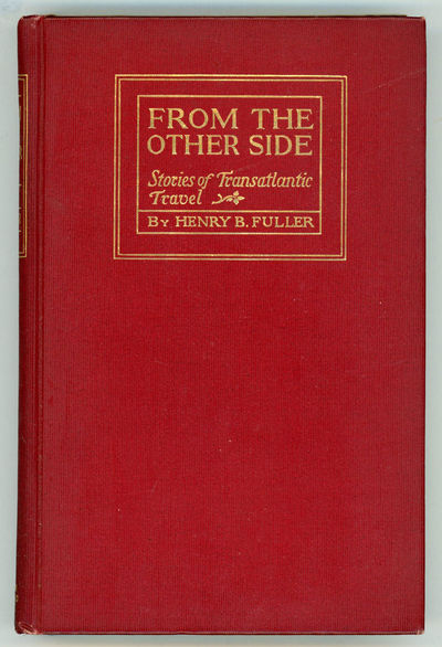 Boston and New York: Houghton, 1898. Octavo, original decorated maroon cloth. First edition. Four sh...