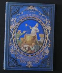 Paris J. Hetzel, N.d. . 8vo., publisher's diagonally grained blue cloth with an elaborate outer fram...