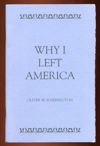 Why I Left America: Address by Oliver Wendell Harrington on April 18, 1991 at Wayne State University in Detroit