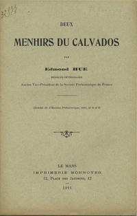 Le Mans, France: Imprimerie Monnoyer, 1911. Offprint. Paper wrappers. A very good copy with clean co...