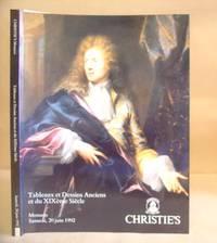 Tableaux Et Dessins Anciens Et Du XIXème Siècle - Dessins De La Collection Nicos Et...