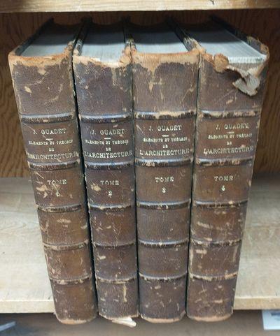 Paris: Librairie de la Construction Moderne, Editeur, 1909. Hardcover. Four quartos; G- condition ha...