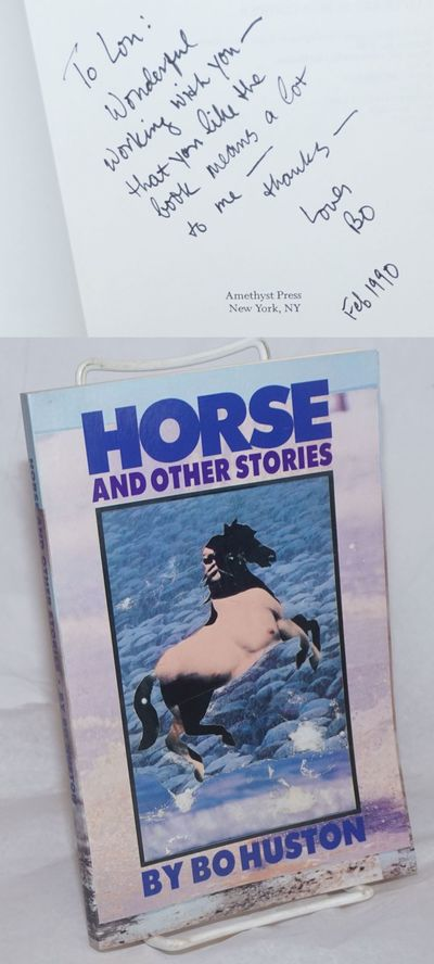 New York: Amethyst Press, 1989. Paperback. 156p., personal inscription signed and dated Feb. 1990 by...